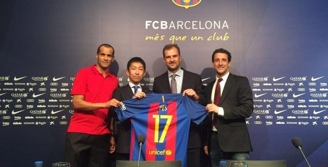 Ce que réserve le nouveau contrat sponsoring entre KONAMI (PES) et le FC Barcelone