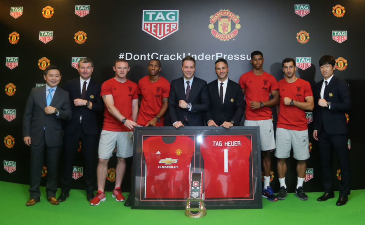 Manchester United TAG Heuer sponsor