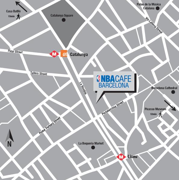 4c6e1453df3 Le premier NBA Café européen arrive à Barcelone - SportBuzzBusiness.fr