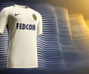 L'AS Monaco dévoile son nouveau maillot away dans une vidéo à 360°