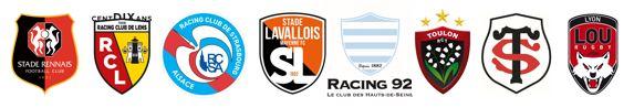 PMU sponsoring stade rennais rc lens rc toulon racing 92