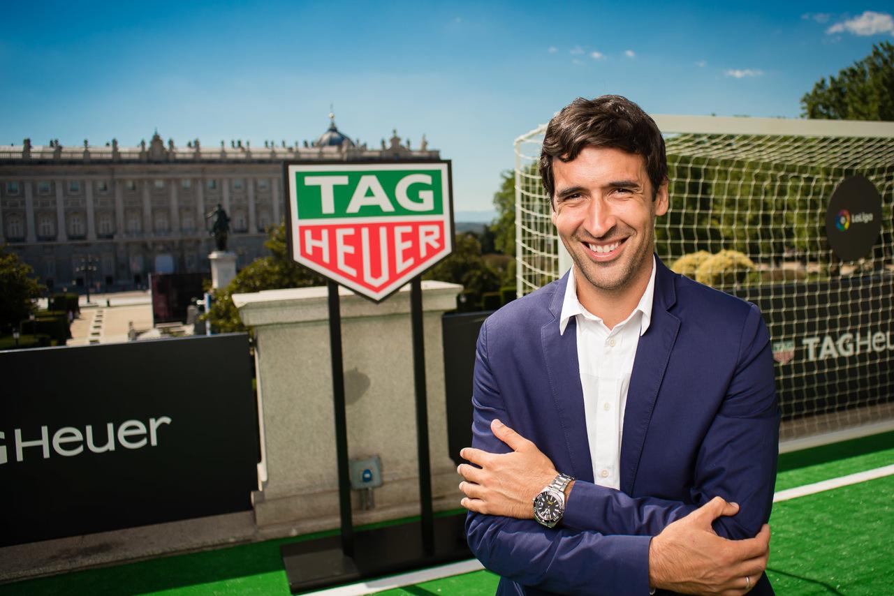 Raul Tag Heuer laliga sponsor