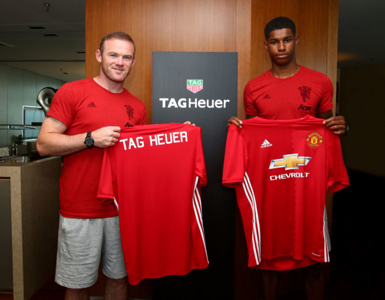 TAG Heuer Manchester United wayne rooney