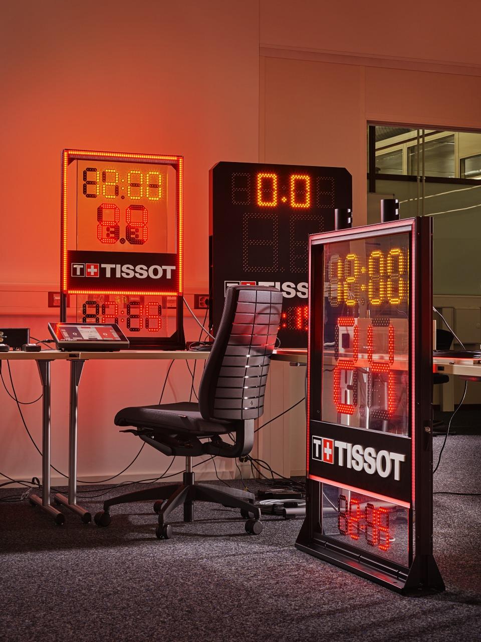 Tissot new nba clock basketball
