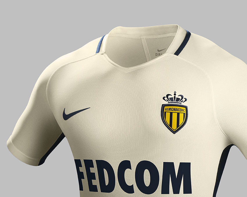 as monaco away kit 2017 nike football