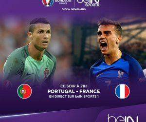 beIN SPORTS communique son audience pour la finale de l'Euro 2016 Portugal – France
