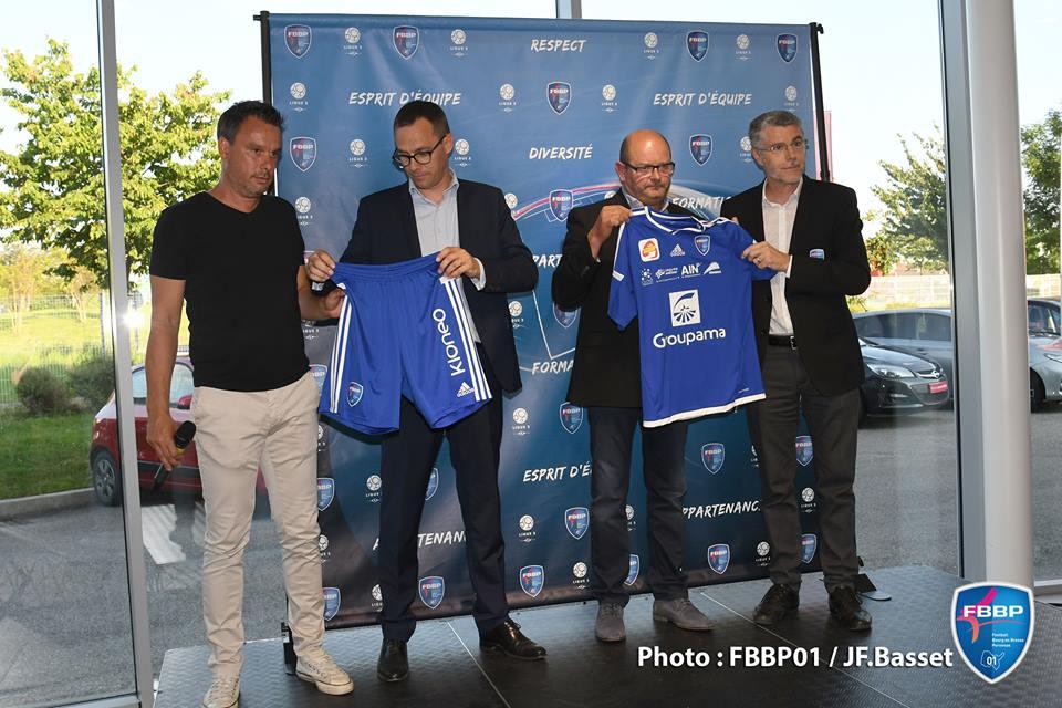 bourg en bresse péronnas maillot Ligue 2 2016 2017 adidas
