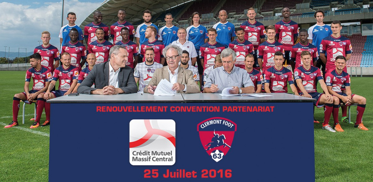 clermont foot patrick maillot ligue 2 2016 2017