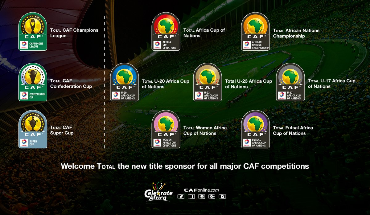 confédération africaine football total sponsor