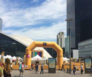 Le Fan Park du Tour de France s'installe sur le parvis de La Défense avec les 4 Temps