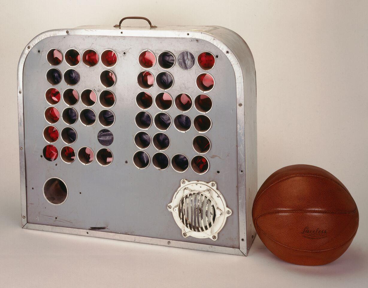 horloge NBA 1954
