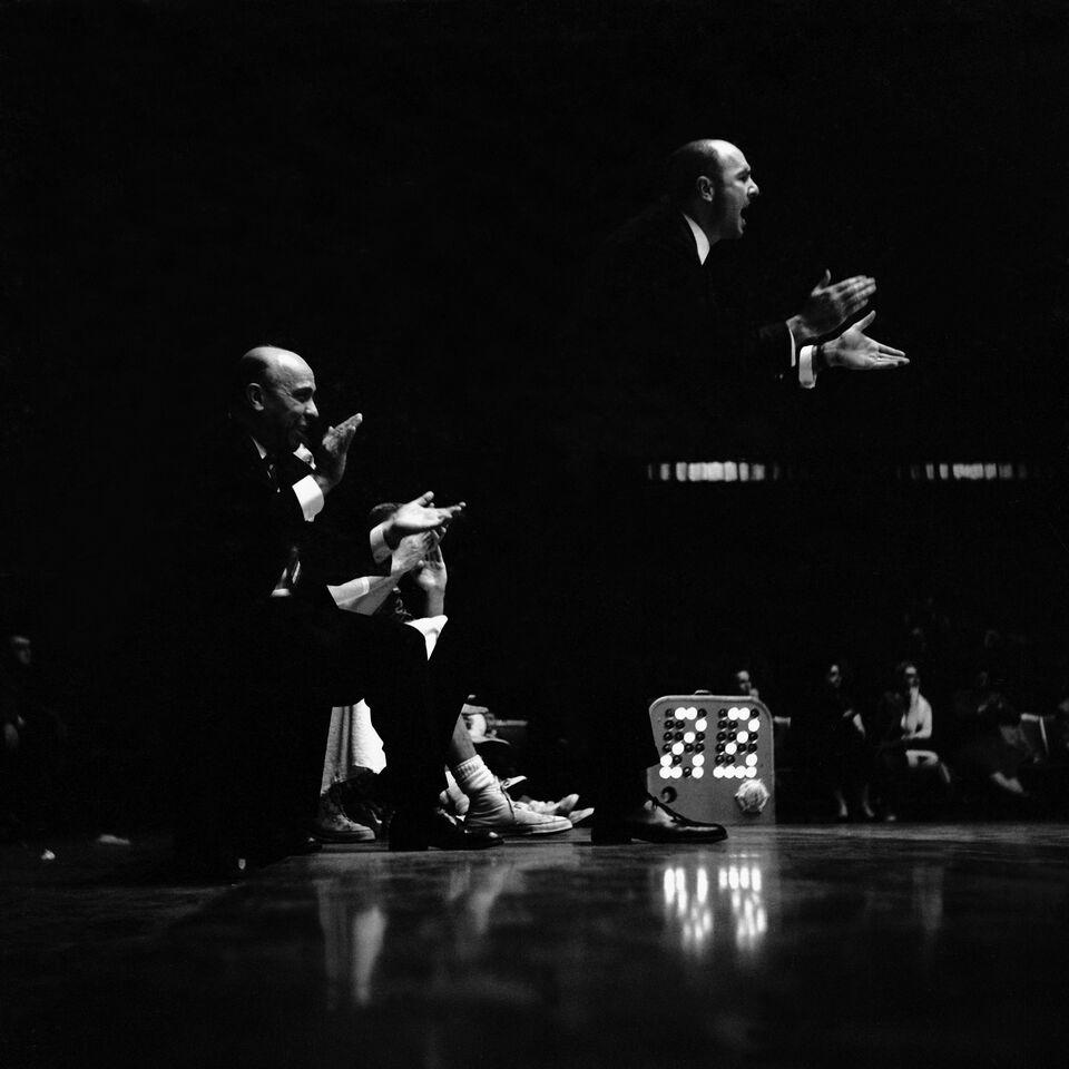 horloge de tirs NBA 1954
