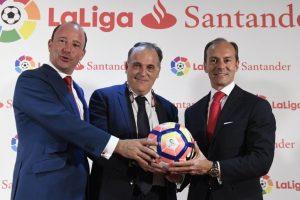 Santander nouveau sponsor-titre de LaLiga en remplacement de BBVA