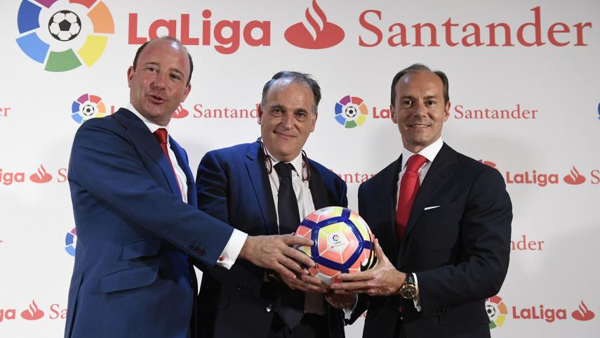 laliga santander sponsorship title