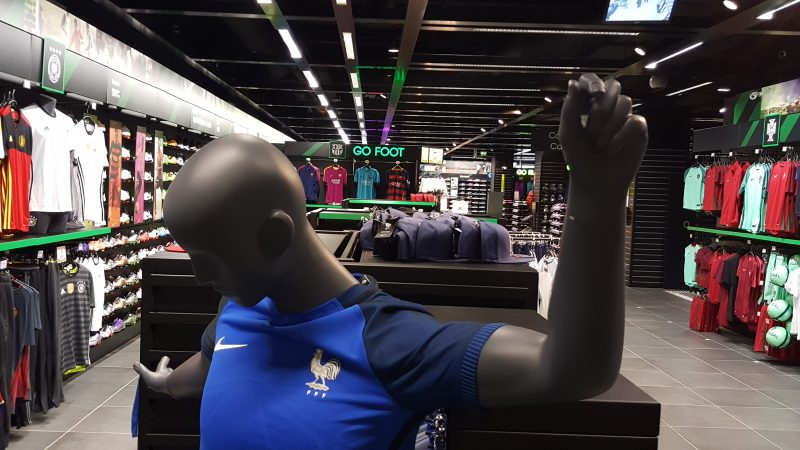 maillot Bleu Nike Go sport euro 2016