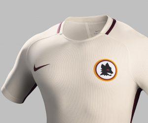 L'AS Roma dévoile son nouveau maillot extérieur 2016-2017 sur Instagram