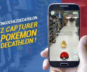 Decathlon surfe sur la vague du jeu Pokémon Go