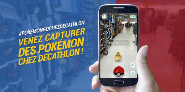 pokémon GO Decathlon
