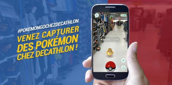 pokémon GO Decathlon