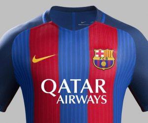 Qatar Airways sponsor maillot du FC Barcelone pour la saison 2016-2017