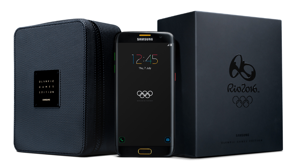 samsung S7 edge Rio 2016 olympics limited edition