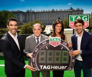 TAG Heuer nouveau sponsor et chronométreur officiel de LaLiga