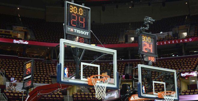 Tissot réinvente l'horloge de tirs sur les paniers NBA