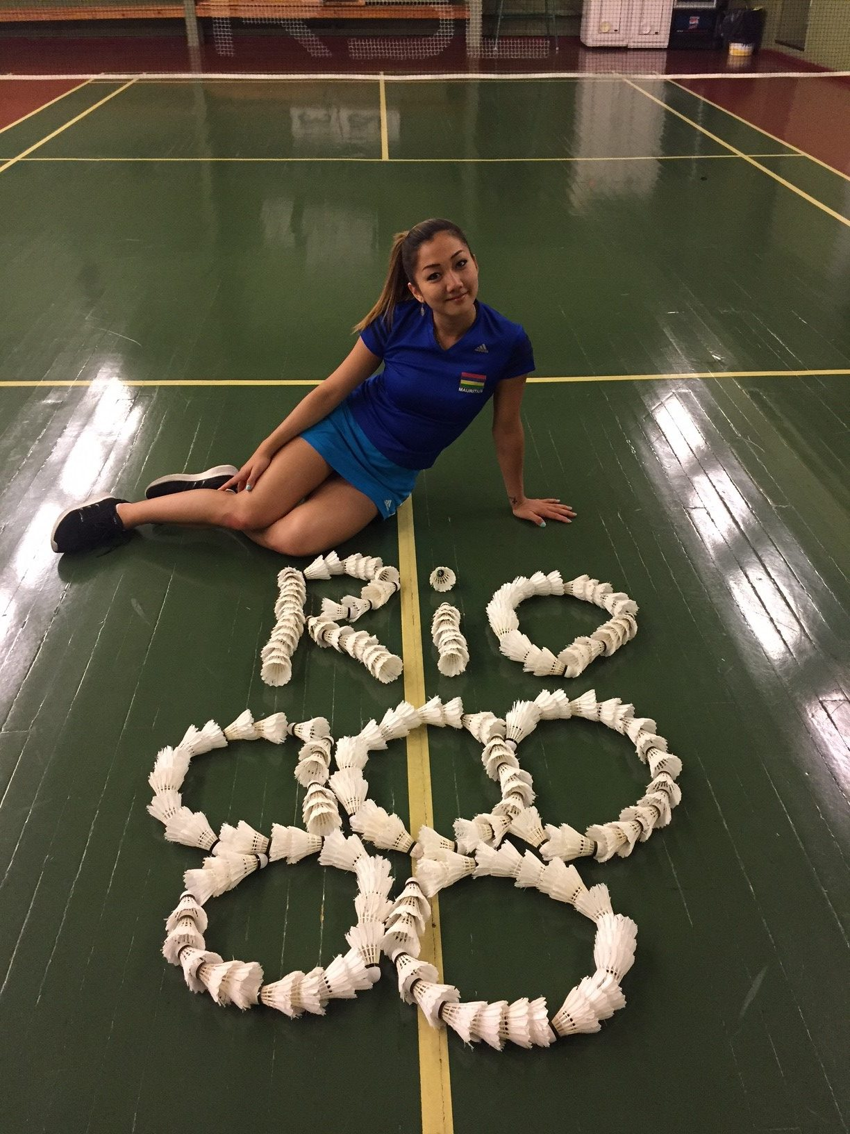 Kate Foo Kune badminton JO rio 2016