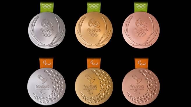 Médailles Olympiques et Paralympiques Rio 2016