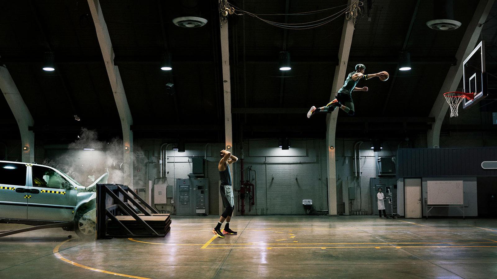 Nike Unlimited Your Airtime Zach LaVine Aaron Gordon rio 2016 publicité
