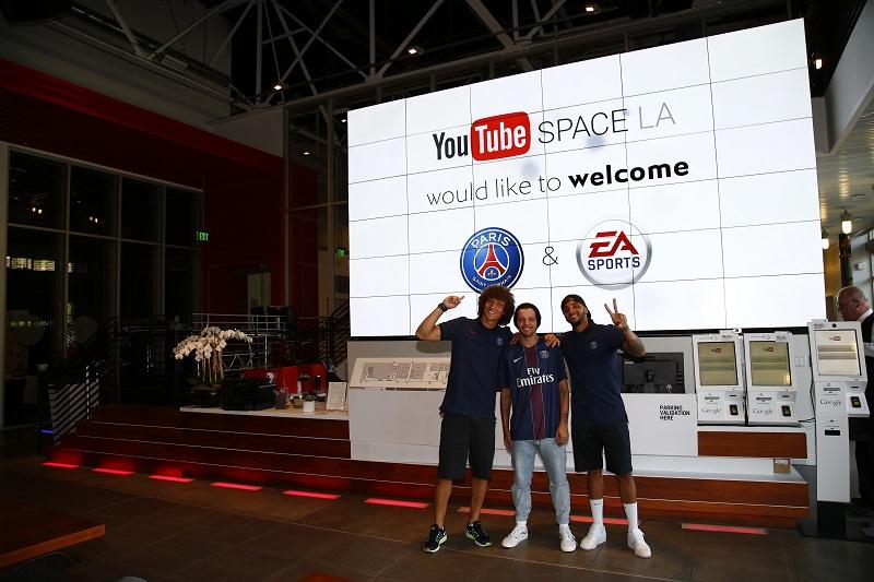 PSG FIFA 17 ea sports Youtube space los angeles