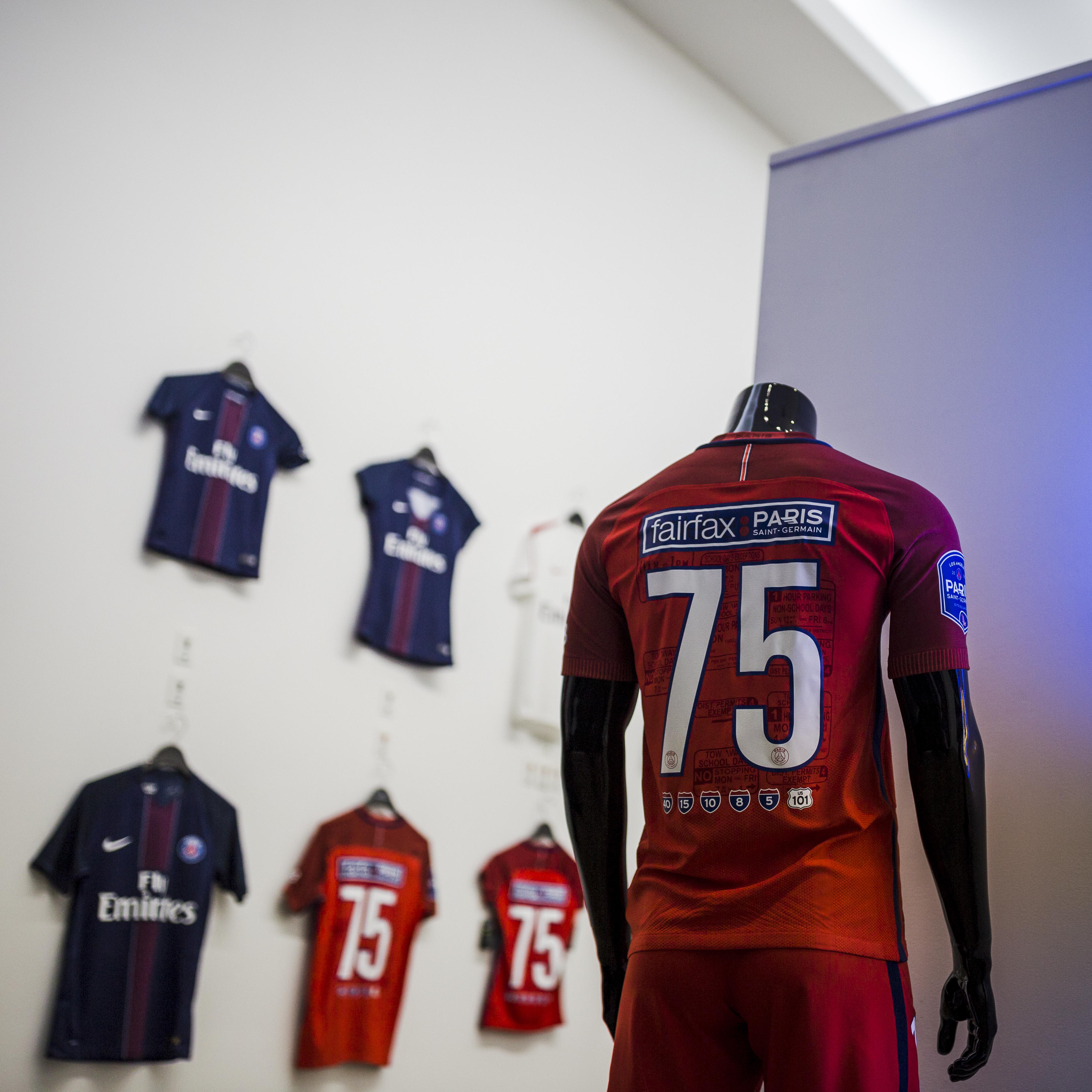 PSG maillot collector los angeles 2016 nike