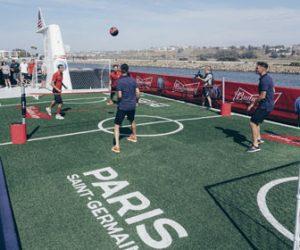 Budweiser, Achilles… Le PSG fait le show à Los Angeles pour ses nouveaux sponsors