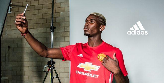 Quand adidas et Manchester United célèbrent le transfert record de Paul Pogba