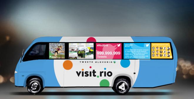 Un dispositif complet pour Twitter lors des Jeux Olympiques de Rio 2016