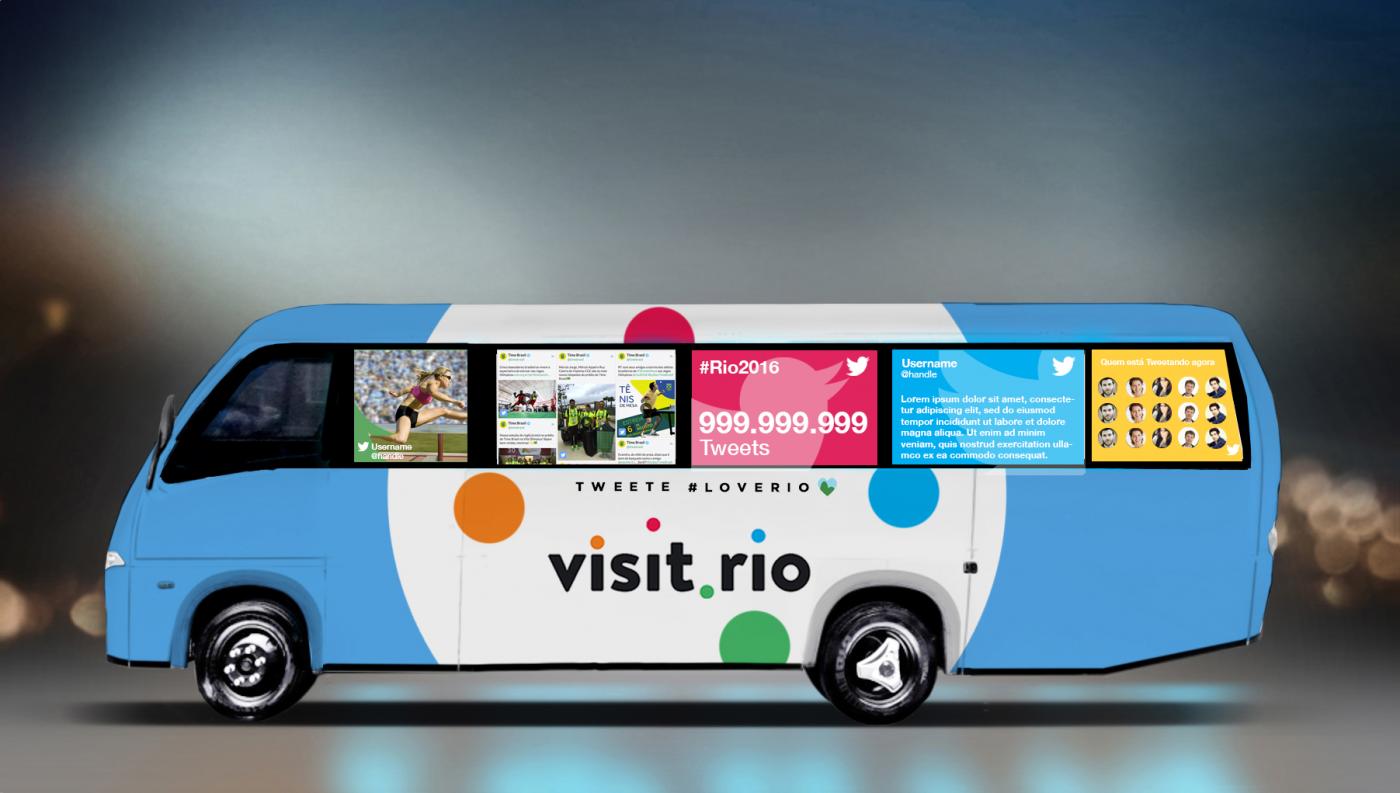 TwitterBuzz bus Rio 2016 JO olympics