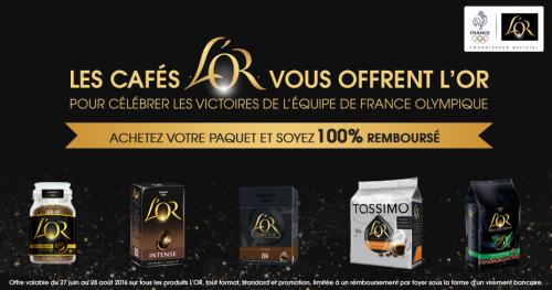 cafés L'Or promotion rio 2016