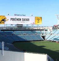 Un Safari Pokemon organisé dans le stade des Jacksonville Jaguars (NFL)
