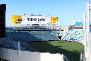 pokémon safari stade NFL jaguars jacksonville