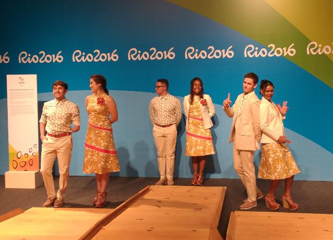 remise médailles rio 2016 tenues volontaires