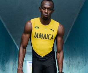 La tenue et les pointes Puma d'Usain Bolt pour les Jeux Olympiques de Rio 2016