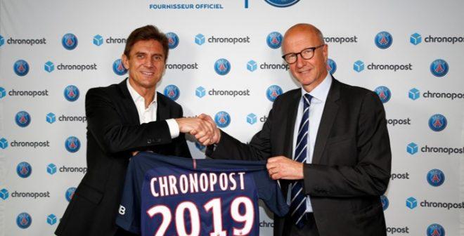 Chronopost devient Fournisseur Officiel du Paris Saint-Germain