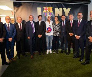 Le FC Barcelone ouvre un bureau à New York pour accélérer son développement économique