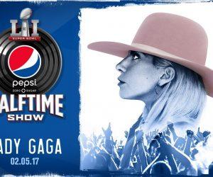 Lady Gaga en concert à la mi-temps du 51ème Super Bowl