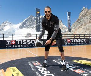 Tony Parker sur le «toit de l'Europe» avec Tissot