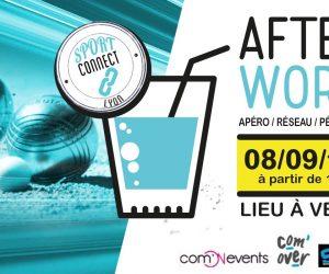 Agenda – «Sport Connect Lyon» fait sa rentrée jeudi 8 septembre avec un afterwork «pétanque»