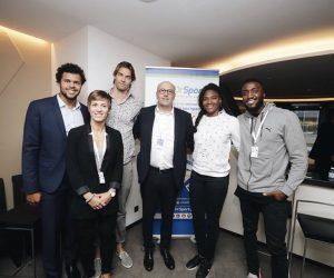 Tsonga, Lacourt, Abalo, Dumerc et Hurtis accompagnent DR SPORT, l'appli santé dédiée aux sportifs