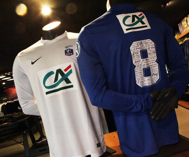 Un maillot collector pour c l brer le centenaire de la coupe de france de football - La coupe de france de football ...