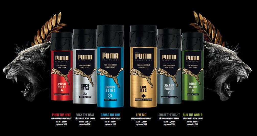 another chance closer at superior quality Les déodorants Puma frappent fort avec Antoine Griezmann et ...