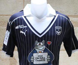 «Mon cartable connecté» sponsor d'un soir sur le maillot des Girondins de Bordeaux